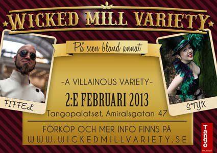 Flygare för Wicked Mill Variety #3 - A Villainous Variety